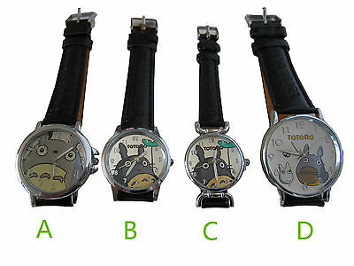 My Neighbour TOTORO Anime Cute Totoro Face Wrist Watch Diameter free shipping