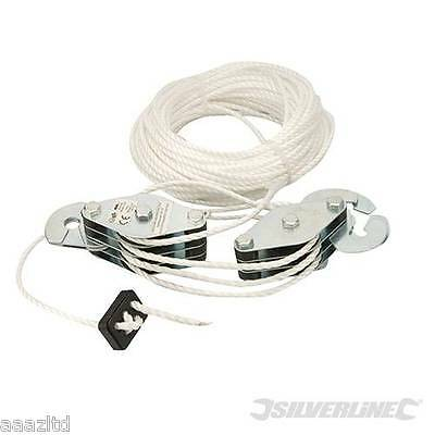 Cable Pulley Set 180 kg Lifting Cord Cargo rope throttle set