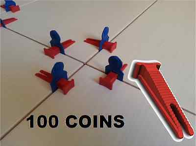 100 Coins Pour Systeme Croisillons Auto Nivelant Perfect Level Carrelage