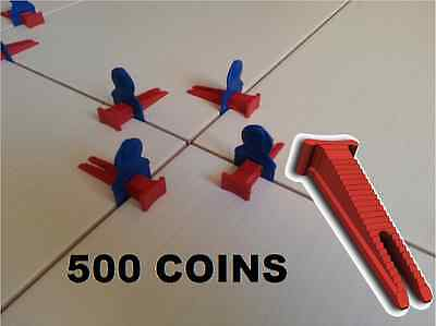 500 Coins Croisillons Auto Nivelant Perfect Level Carrelage Carreleur