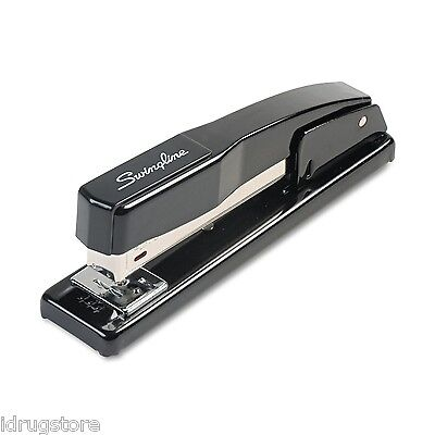 Swingline, Commercial Desk Stapler, All-Metal, SWI 44401, Black, Brand New