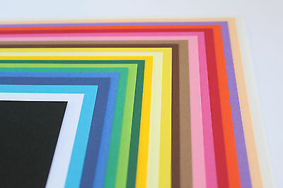 CLAIREFONTAINE MAYA A4 120gsm SMOOTH COLOURED PAPER. 20 PREMIUM QUALITY COLOURS.