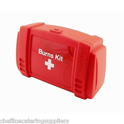Burns First Aid Kit, Kitchen Catering Fire Safety Burns Kit
