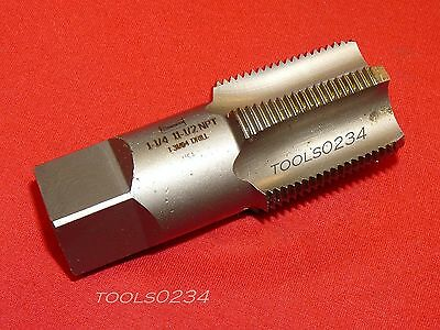 """Irwin 1908 ZR 1-1/4"""" -11-1/2 NPT Taper Pipe Tap Thread Cutting Cleaning USA Made"""
