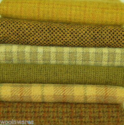 """HAND DYED RUG HOOKING WOOL Mill-Dyed ~ """"BEE EVERYTHING"""""""