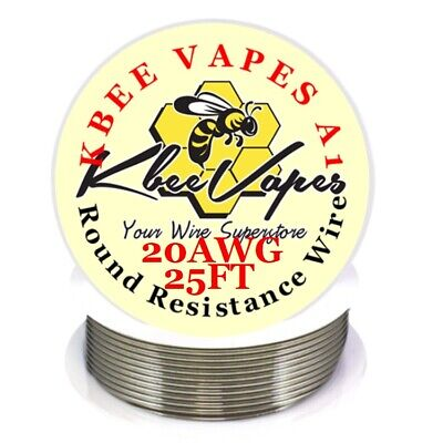 Kbee's A1 - 25ft Roll of 20 Gauge .81mm , 0.814 Ohms/ft Resistance Wire