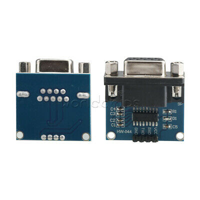 MAX3232 RS232 Serial Port To TTL Converter Module Female DB9 COM Serial MAX232
