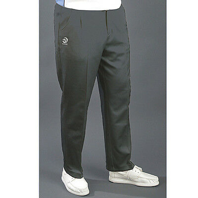 T. Taylor Gents Grey Sports Bowls Trousers.  Free Postage.