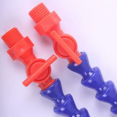 CNC tools 5 flat+5 round Flexible Plastic Water Oil Coolant Pipe Hose Tap