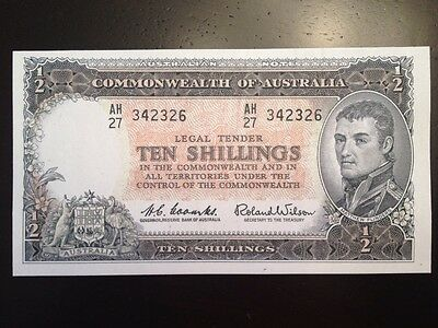 Reproduction Commonwealth Of Australia 1960 Ten Shillings 10/- Matthew Flinders