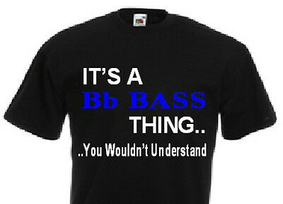 It's A Bb Bass Thing Tshirts
