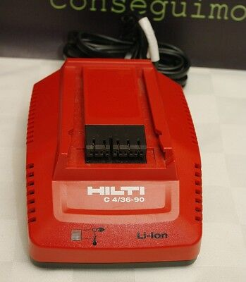 HILTI Battery Charger Great Shape C 4/36-90 LITHIUM-ION 115v
