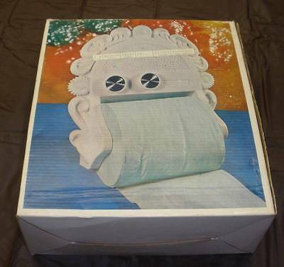 Rest room Radio holds the toilet paper new in box vintage