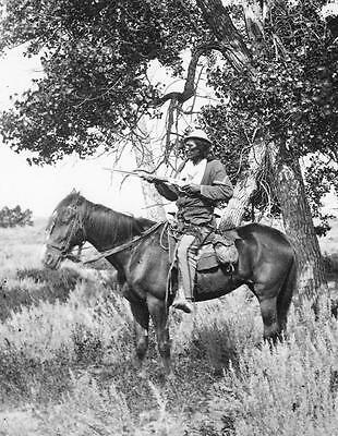 1873 Bloody Knife PHOTO General George Custer Indian Scout, 7th Cavalry Guide