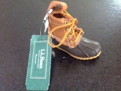 LL Bean Boot Keychain, Outdoors, Gift, Hunting, Sportsman, Maine, Stocking Stuff