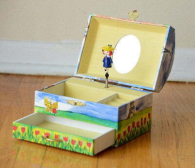 Schylling Madeline Music Jewelry Box 1999 KIDS BOOK SHOW TOYS Ludwig Bemelmans