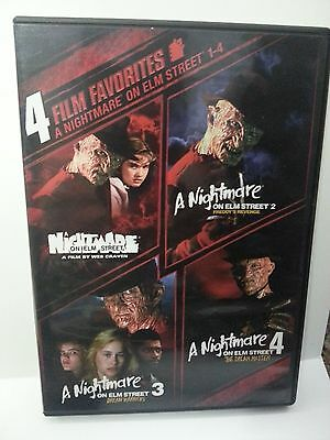 12 Horror Movie Lot (Halloween & Nightmare on Elm Street) Like New!!!