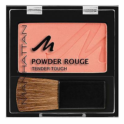 Manhattan NUDE MOOD Pressed Powder Rouge Tender Touch Blush Blusher Compact