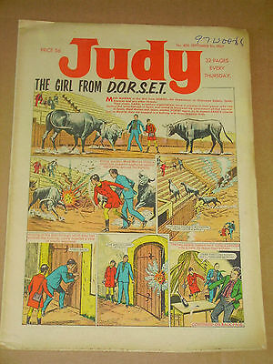 JUDY #399-403 Lot of 5 Sep 2nd-30th 1967 UK Girls Weekly Comic