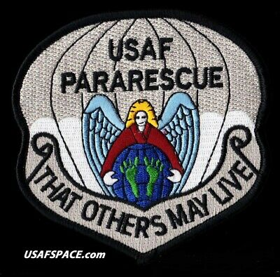 Usaf Pararescue - That Others May Live - Pj's Csar - Combat Rescue - Vel Patch