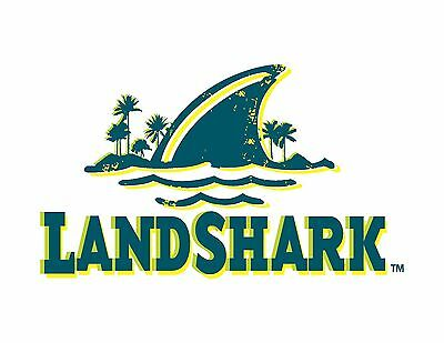 "Landshark Vinyl Sticker Decal 6"" (full color)"