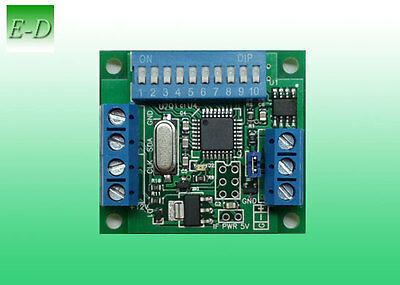 DMX to SPI decoder for WS2801 + WS2811, WS2812, WS2813, UCS1903, SK6812