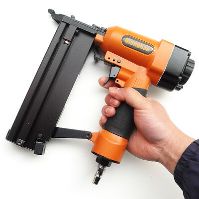 2 in 1 Quality Air Nail Gun Combo, Safety Trigger, F40 + F50 Brad Nails x 1000