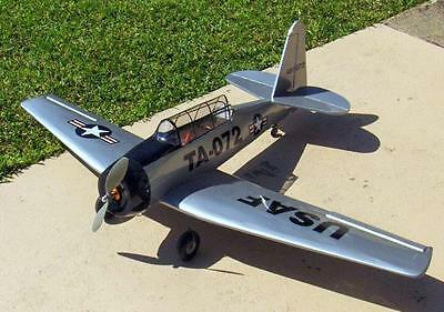 Vintage T-6 TEXAN l Smith Scale UC Model Airplane PLANS + Construction Article