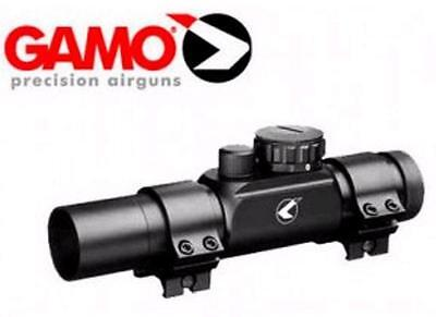 Gamo Red Dot 30mm RGB Scope for PT-85 Tactical Pistol Blowback & Picattiny Rails