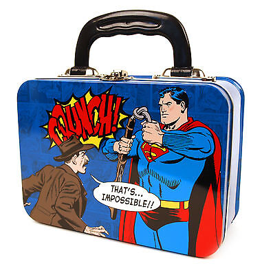 Superman 'Crunch' Tin Tote