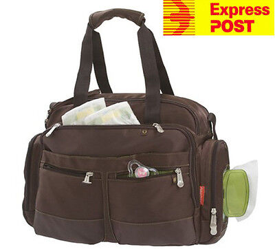 Fisher-Price Carry All Diaper Nappy Bag Deluxe Everyday Organizer Brand new!