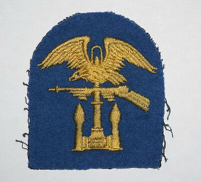 Amphibious Engineer patch THEATER MADE felt WWII US Army patch cut edge D-Day