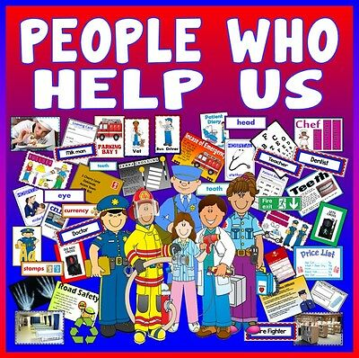 Cd *Huge* People Who Help Us Teaching Resources Early Years Key Stage 1-2 Eyfs