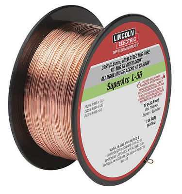 LINCOLN ELECTRIC ED030631 MIG Welding Wire,L-56,.030,Spool