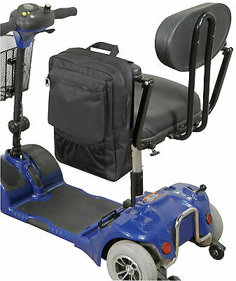 Mobility Disability Wheelchair Motorised Scooter Pannier Armrest Bag #VA137ST