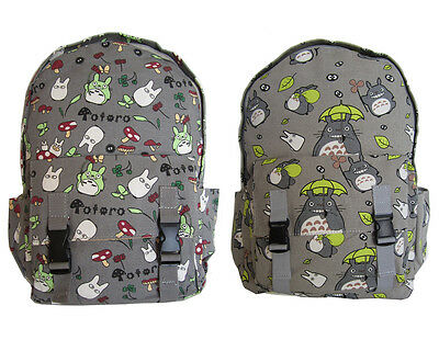 Studio My Neighbour Totoro Canvas Boys School Girls Fashion Backpack Totoro-bags
