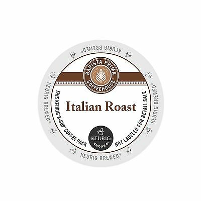 Barista Prima Coffeehouse, Italian Roast Coffee, Keurig K-Cups, 192-Count