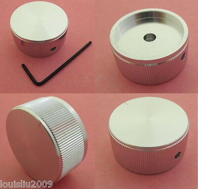 1pc High Quality Aluminum Audio Rotary pots Knob 40x20mm + 1 Allen wrench free