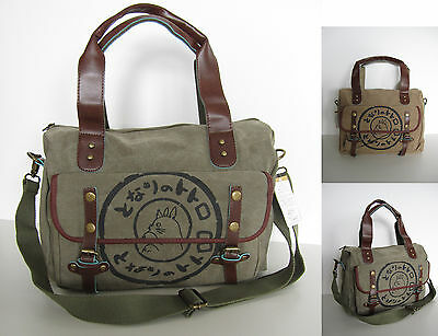 Fashion My Neighbor Totoro Shoulder Hand Canvas Bag Leisure School Messenger Bag