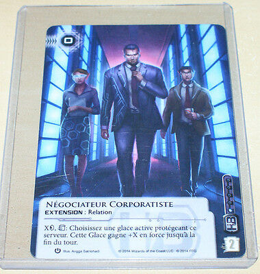 Android Netrunner - Corporate Troubleshooter Alt Regionals French Promo