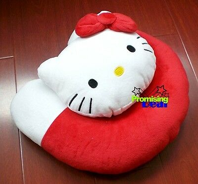 Hello Kitty Soft Neck Rest Car Office Travel Pillow
