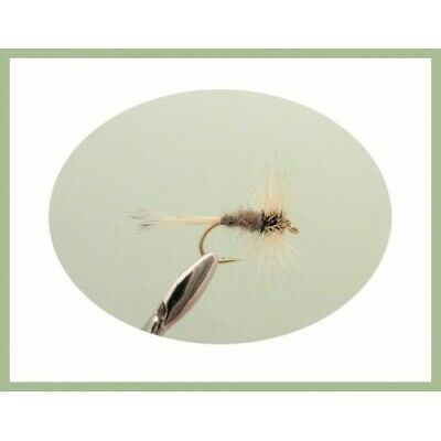 Mixed Size 12//14//16 12 Pack Ginger Quills Dry Trout Flies For fly Fishing