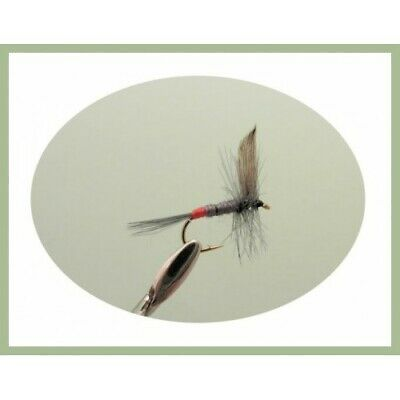 Grey Duster 12 Pack Adams Kites Imperial Choice Dry Trout Fishing Flies