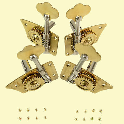 SET 3/4 4/4 Double Bass Pegs Contrabass Pegs Upright Bass Pegs Gold Plated NEW