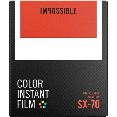 Impossible Project PRD2783 Color Instant Film for Polaroid SX70 type Camera PX70