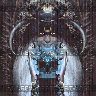 Harbinger of Darkness  - perforated sheet BLOTTER ART psychedelic acid free