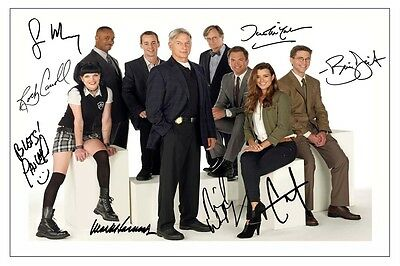 Ncis Cast Autograph Signed Photo Print Poster