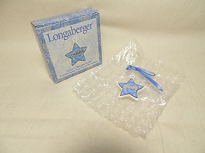 LONGABERGER 2000 CENTURY CELEBRATION Star Tie-On