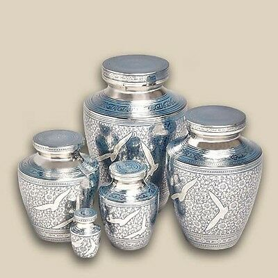 Contemporary Going Home Pet Brass Cremation Urns