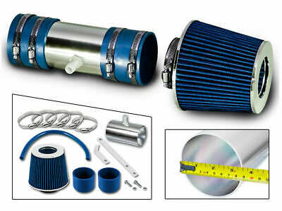 BLUE Filter for 05-10 Cobalt Base//LS//LT//LTZ 2.2L 2.4L Short Ram Air Intake Kit